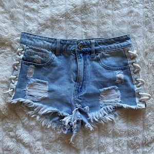Forever 21 denim shorts 💙✨